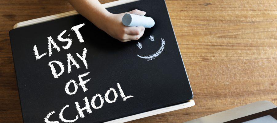 bliv klar til sidste skoledag