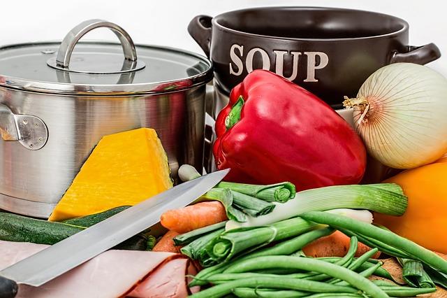 lækker grøntsagssuppe
